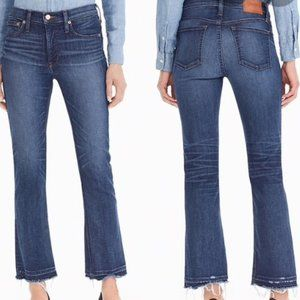 NWT J. Crew Billie Demi Boot Crop Jeans